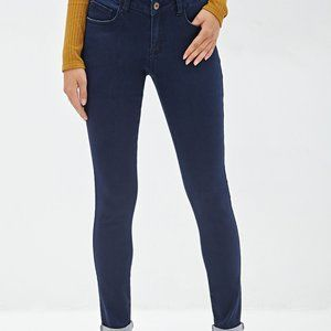 Forever 21 Low rise Skinny Jeans-size 27